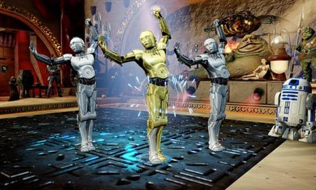 Kinect Star Wars: not the droids you're looking for