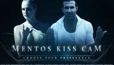 Kus je scherm met de Mentos Kisscam
