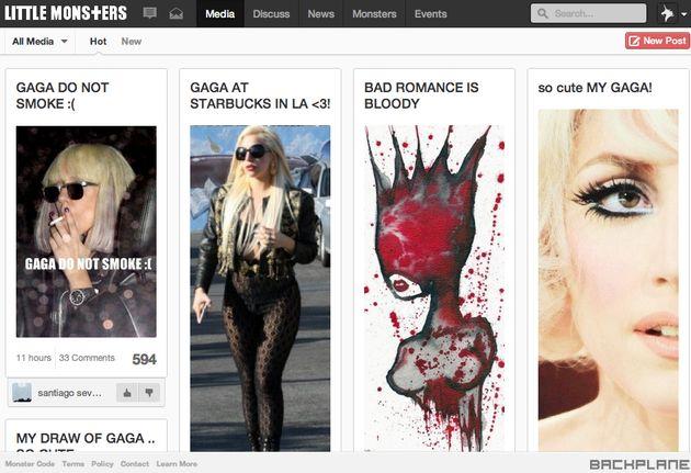 Lady GaGa's eigen sociale netwerk nu voor iedereen toegankelijk
