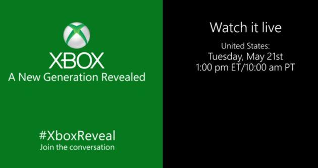 Later vandaag: Next-Gen (Durango) Xbox live event
