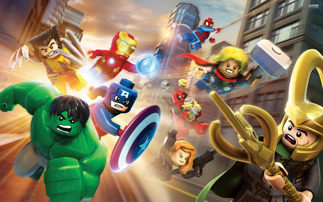 LEGO Marvel Super Heroes: Vrolijkheid in spandex