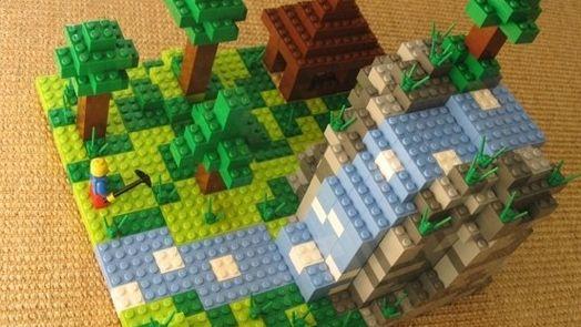 LEGO Minecraft in ontwikkeling, één en één blijkt twee te zijn