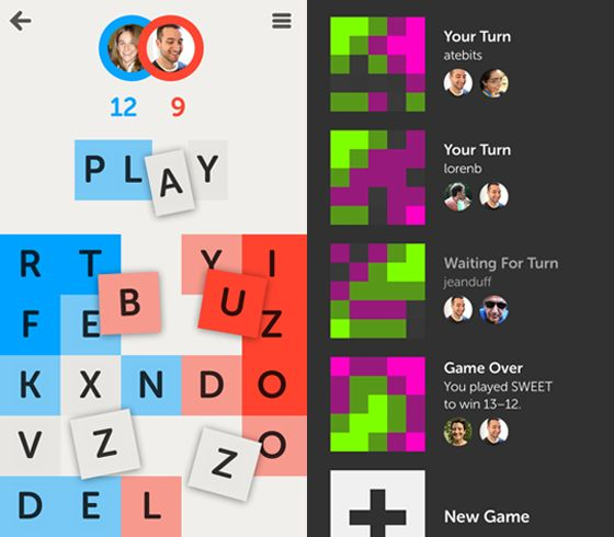 Letterpress: nieuw iPhone-woordspel van voormalig Tweetie-ontwikkelaar