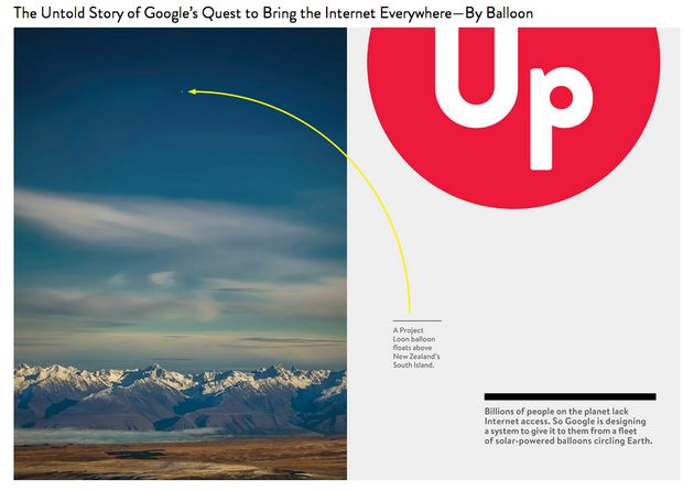 Leuk artikel over Google's Project Loon