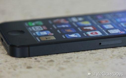 Levering iPhone 5 loopt vertraging op door krassen