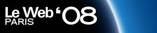 LeWeb 08 komt er aan