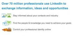 LinkedIn tikt de 70 miljoen gebruikers aan