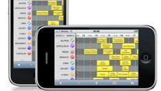 Lowlands webapp voor iPhone