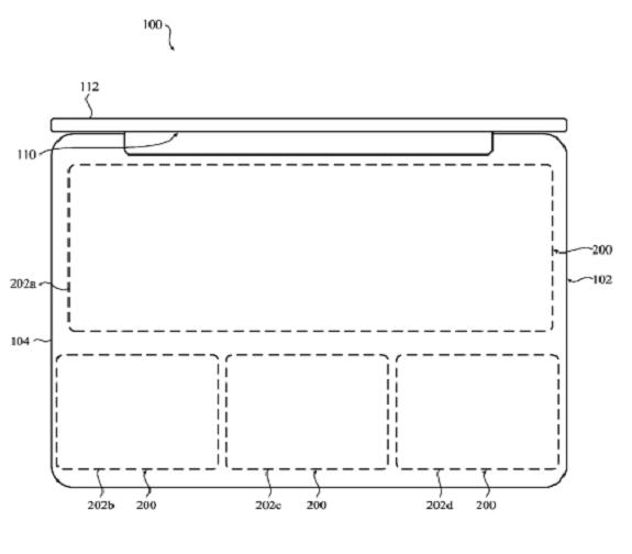 Macbook Apple patent