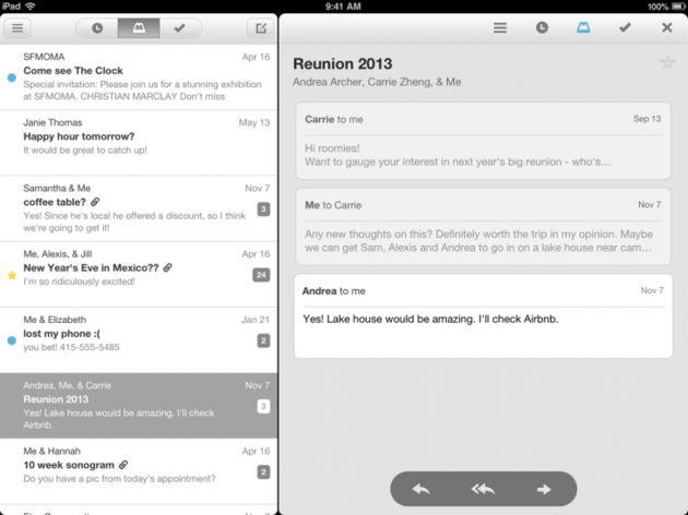 Mailbox nu ook beschikbaar voor de iPad