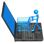 Mannen zijn online de grootste shoppers
