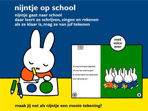 Met Nijntje naar school op de iPad