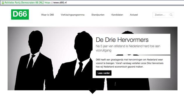Microsoft: D66 heeft meest toegankelijke website, PVV en SP blijven achter