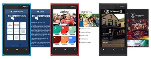 Microsoft en AppMachine samen in apps voor Windows Phone 8