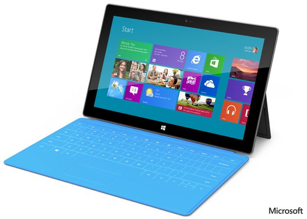 Microsoft presenteert Surface tablet/computer