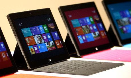 Microsoft Surface Tablet naar Nederland