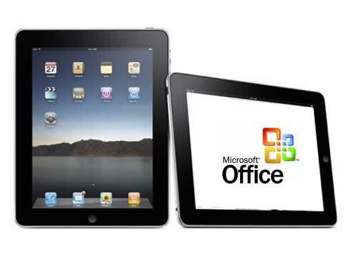 Microsoft werkt aan speciale Office versie voor Apple iPad toestellen