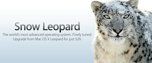 Midnight release Mac OS X Snow Leopard