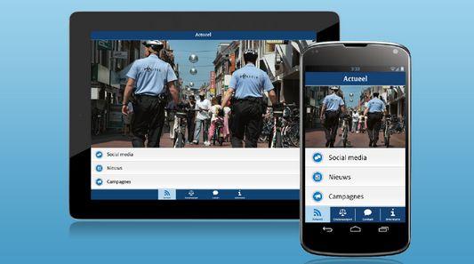 Ministerie van Veiligheid en Justitie lanceert eigen app