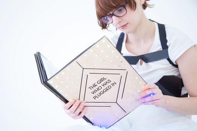 "MIT ontwikkelt ""wearable book"""