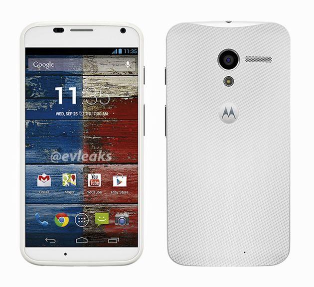 Moto X van Motorola en Google vroegtijdig uitgelekt