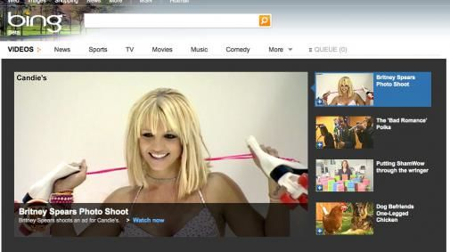 MSNvideo wordt Bing video