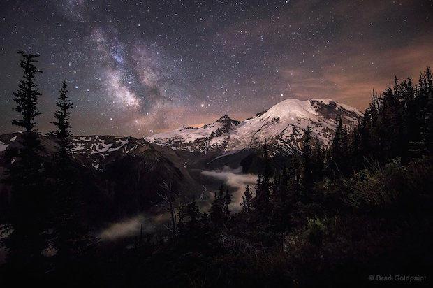 Mt. Rainier in Washington state