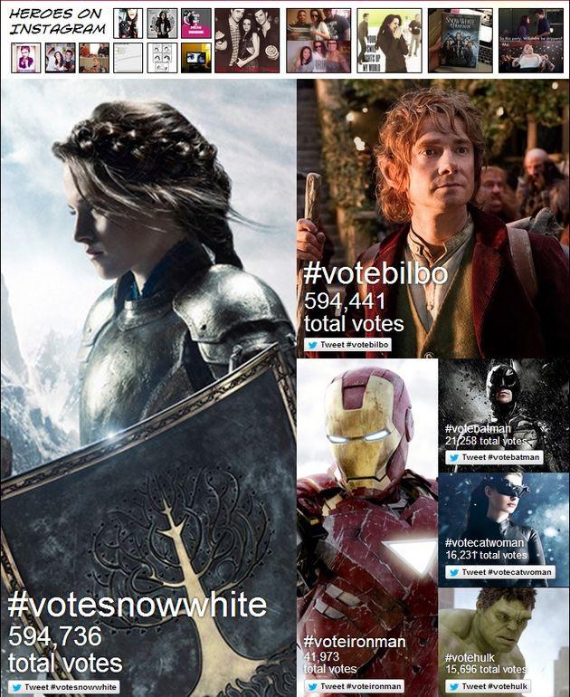 MTV Movie Awards: via Instagram en Twitter stemmen op jouw 'Hero'
