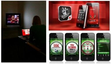 Multiscreen Synchronized advertising