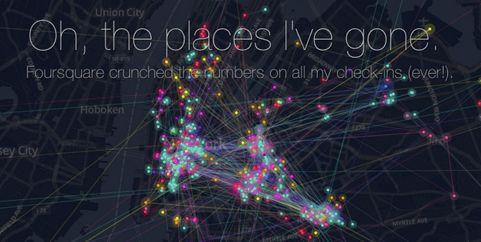 Must see: de Foursquare timemachine