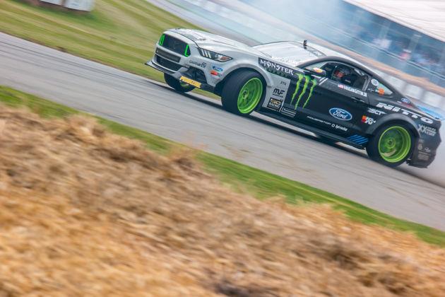 Mustang RTR Drift competitie hillclimb