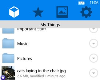 Mybox: Dropbox app voor Windows Phone 8