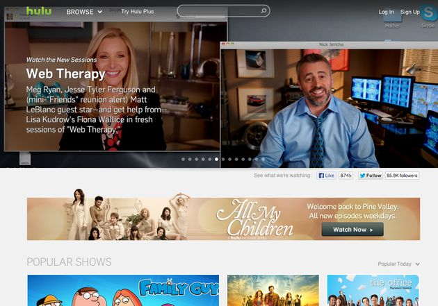 Na Tumblr zit Yahoo nu achter Hulu aan