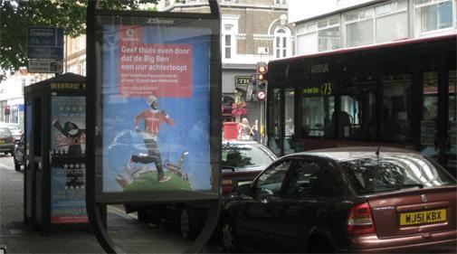 Nederlandstalige affiches in London, Barcelona en Parijs