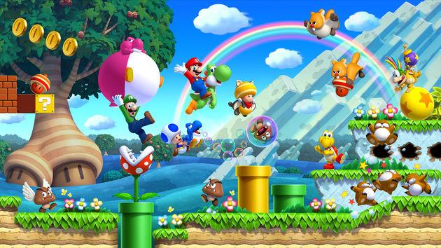 New Super Mario Bros. U is eindelijk weer eens echt nieuw en super
