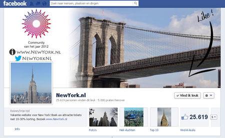 NewYork-nl-Facebook-pagina