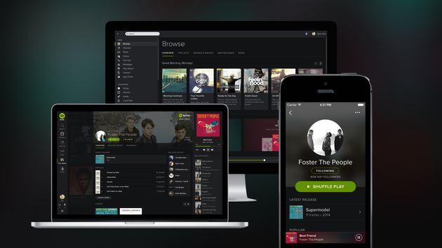 Nieuw design voor Spotify