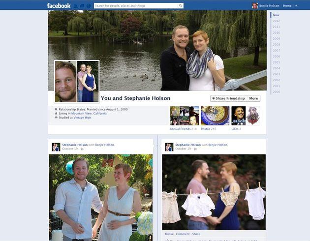 Nieuwe layout Facebook vriendschapspagina's