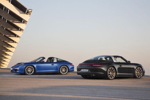 Nieuwe Porsche 911 Targa krijgt innovatief Targa dak