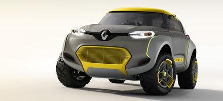 Nieuwe Renault concept car heeft een drone aan boord