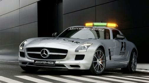 Nieuwe safety car Formule 1
