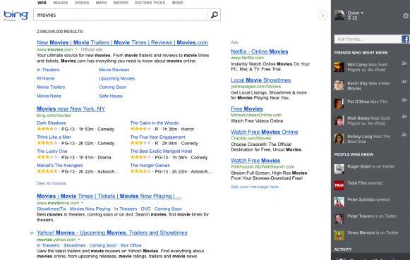 Nieuwe 'Socialere' versie Bing in de VS voor iedereen beschikbaar