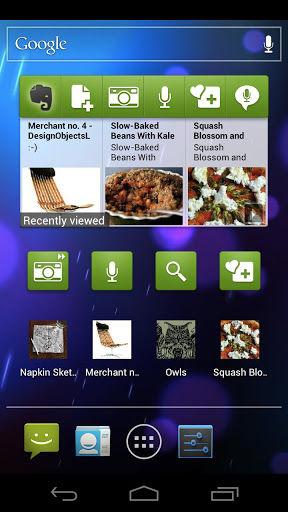 Nieuwe update verschenen voor Evernote for Android