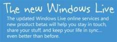Nieuwe versies Windows Live diensten