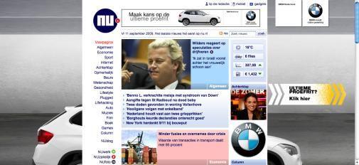 Nieuwe vorm van adverteren op NU.nl