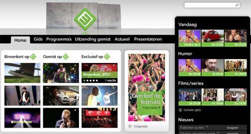 Nieuwe website Nederland 3