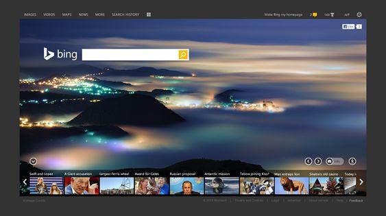 Nieuwe zoekfuncties voor Bing