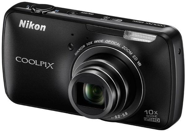 Nikon Coolpix S800C: camera met Android