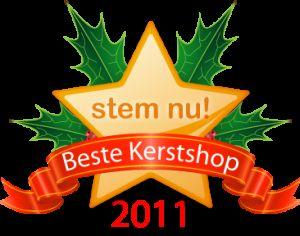 Nominaties Beste Kerstshop 2011 bekend