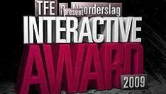 Nominaties Interactive Award 2009 bekend
